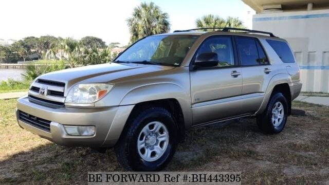 Used 2003 TOYOTA 4RUNNER BH443395 for Sale