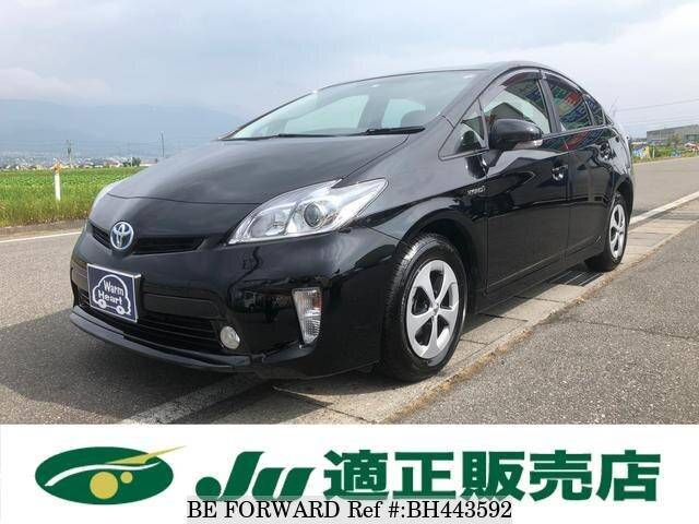 Used 2015 TOYOTA PRIUS BH443592 for Sale