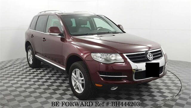 Used 2008 VOLKSWAGEN TOUAREG BH444203 for Sale