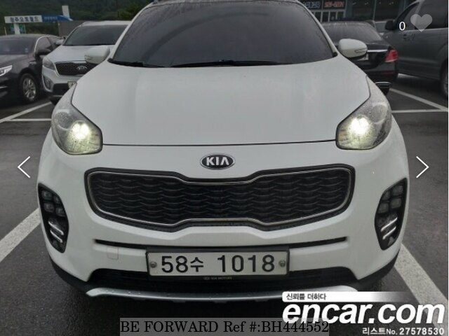 Used 2017 KIA SPORTAGE BH444552 for Sale