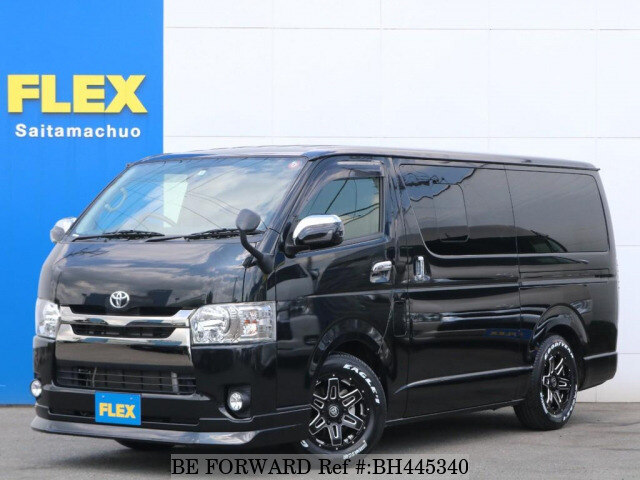 Used 2017 TOYOTA REGIUSACE VAN BH445340 for Sale