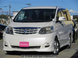 Used 2007 TOYOTA ALPHARD BH445375 for Sale