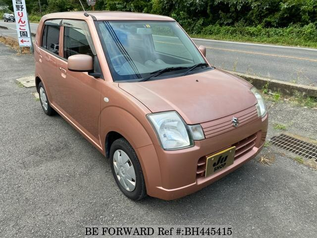 Used 2008 SUZUKI ALTO BH445415 for Sale