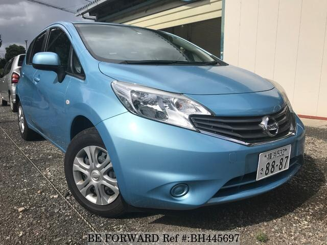 Used 2012 NISSAN NOTE BH445697 for Sale