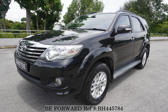 Used 2014 TOYOTA FORTUNER BH445784 for Sale