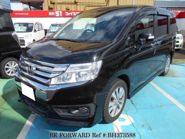 Used 2013 HONDA STEP WGN BH373588 for Sale