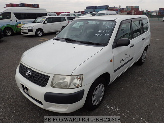 Used 2003 TOYOTA SUCCEED WAGON BH425808 for Sale