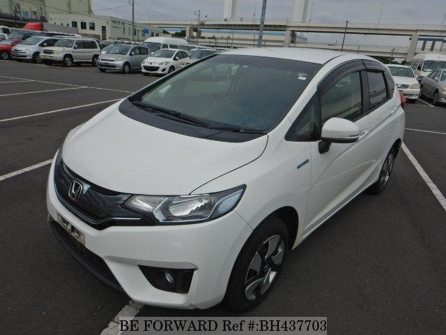 Used 2015 Honda Fit Hybrid Daa Gp6 For Sale Bh437703 Be Forward
