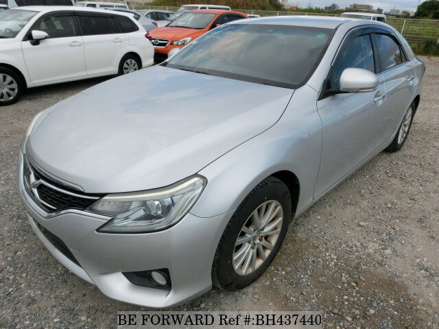 Used 2014 TOYOTA MARK X BH437440 for Sale