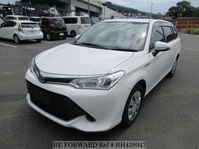 Used 2015 TOYOTA COROLLA FIELDER BH439947 for Sale