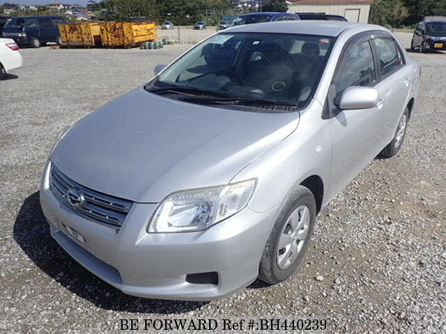 Used 2008 TOYOTA COROLLA AXIO BH440239 for Sale