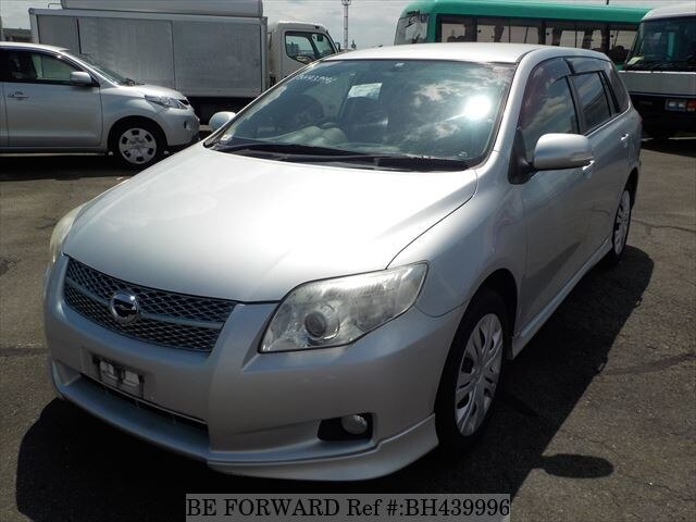 Used 2006 TOYOTA COROLLA FIELDER BH439996 for Sale