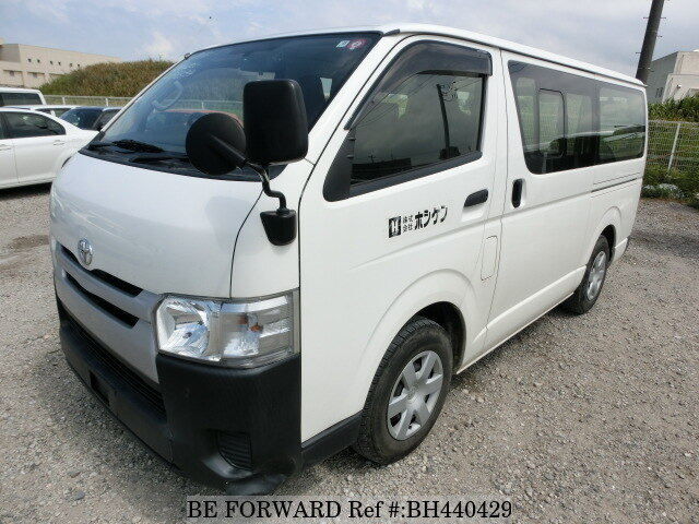 Used 2016 TOYOTA HIACE VAN BH440429 for Sale