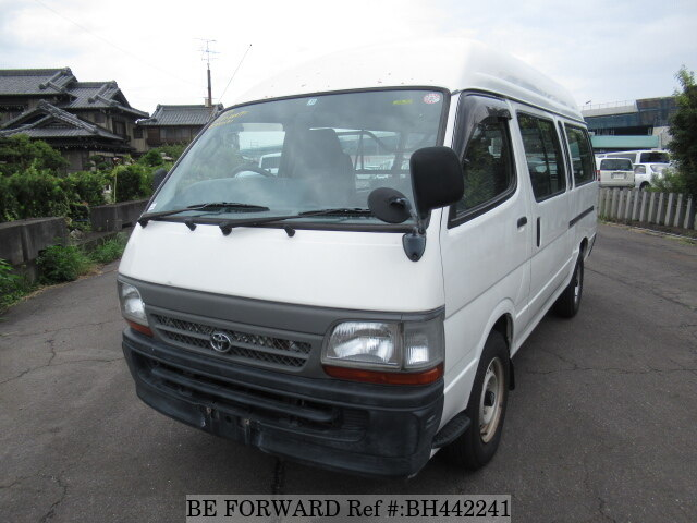 Used 2003 TOYOTA HIACE VAN BH442241 for Sale