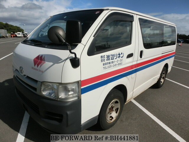 Used 2005 TOYOTA HIACE VAN BH441881 for Sale