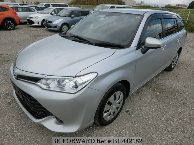 Used 2015 TOYOTA COROLLA FIELDER BH442182 for Sale