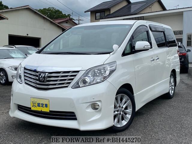 Used 2010 TOYOTA ALPHARD BH445270 for Sale
