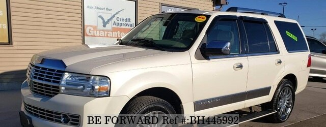 Used 2008 LINCOLN NAVIGATOR BH445992 for Sale