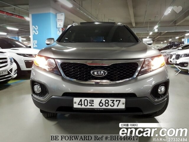 Used 2011 KIA SORENTO BH446617 for Sale