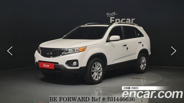 Used 2012 KIA SORENTO BH446636 for Sale