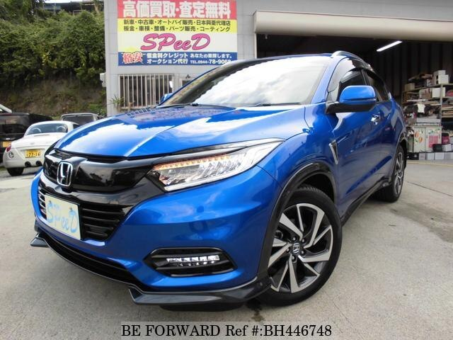 Used 2019 HONDA VEZEL BH446748 for Sale