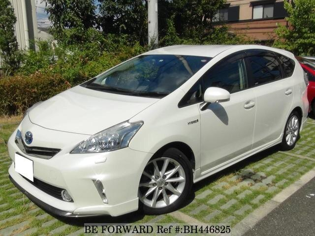 Used 2012 TOYOTA PRIUS ALPHA BH446825 for Sale