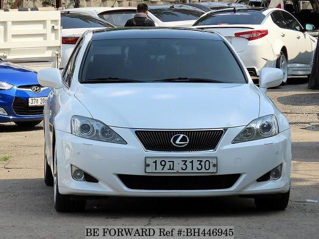 Used 2008 LEXUS IS BH446945 for Sale