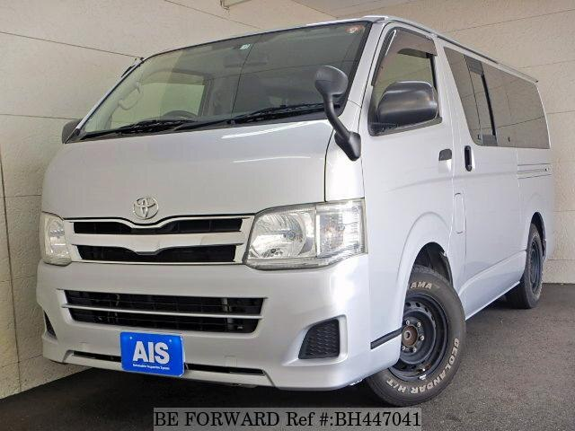 Used 2012 TOYOTA HIACE VAN BH447041 for Sale