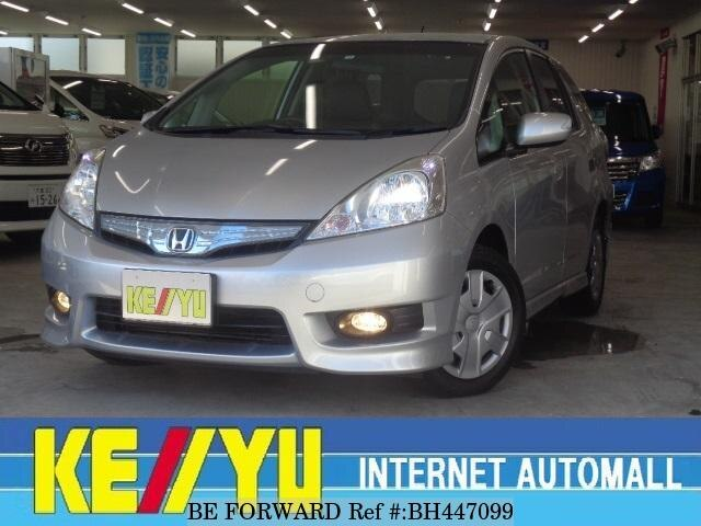Used 2012 HONDA FIT SHUTTLE HYBRID BH447099 for Sale