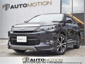 Used 2016 TOYOTA HARRIER BH447103 for Sale