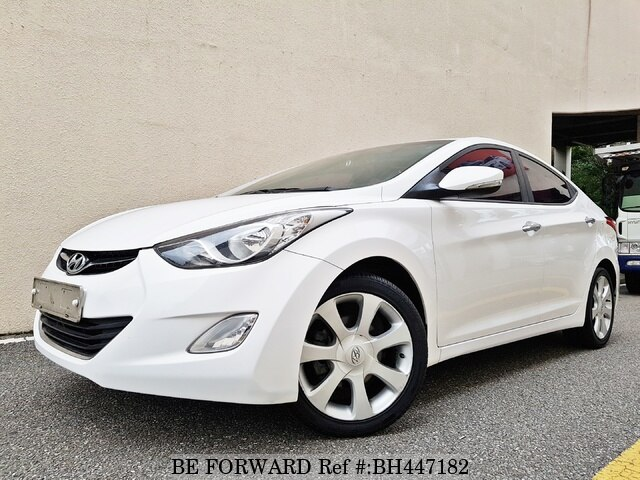 Used 2013 HYUNDAI AVANTE (ELANTRA) BH447182 for Sale