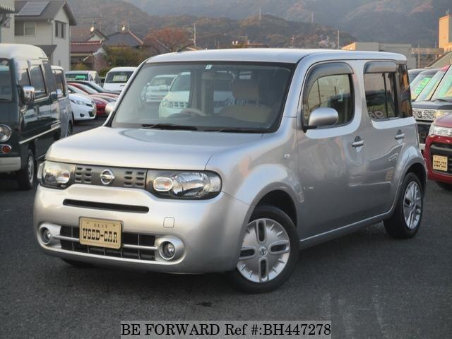 Used 2010 NISSAN CUBE BH447278 for Sale