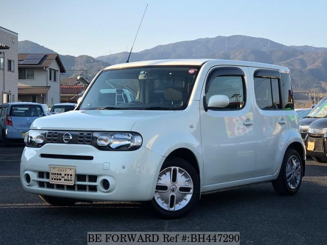 Used 2011 NISSAN CUBE BH447290 for Sale