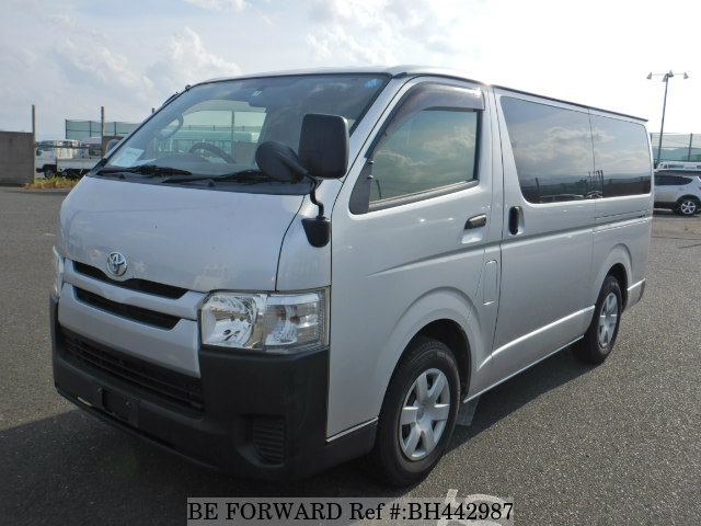 Used 2014 TOYOTA HIACE VAN BH442987 for Sale