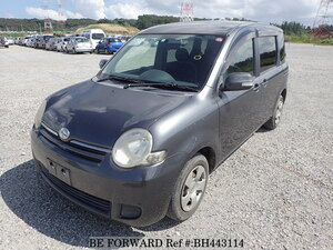 Used 2008 TOYOTA SIENTA BH443114 for Sale