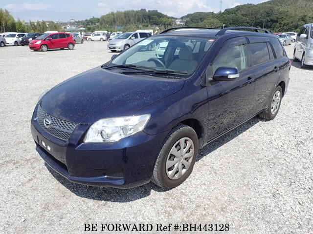 Used 2007 TOYOTA COROLLA FIELDER BH443128 for Sale