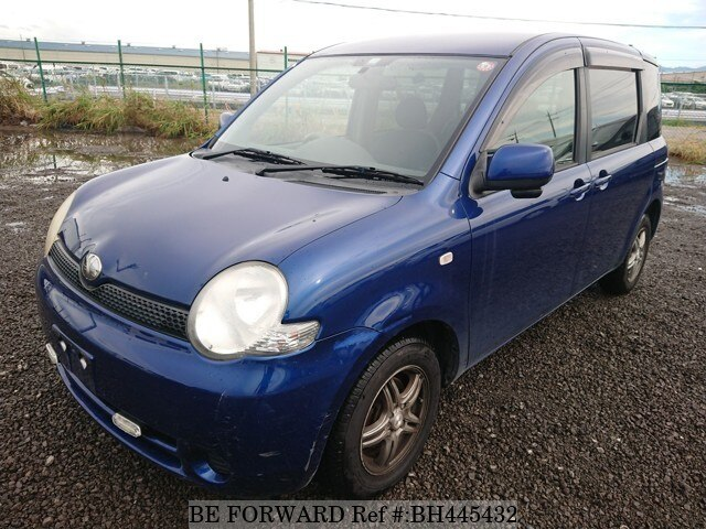 Used 2003 TOYOTA SIENTA BH445432 for Sale