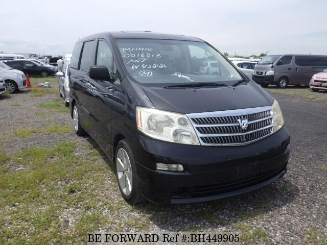 Used 2002 TOYOTA ALPHARD BH449905 for Sale
