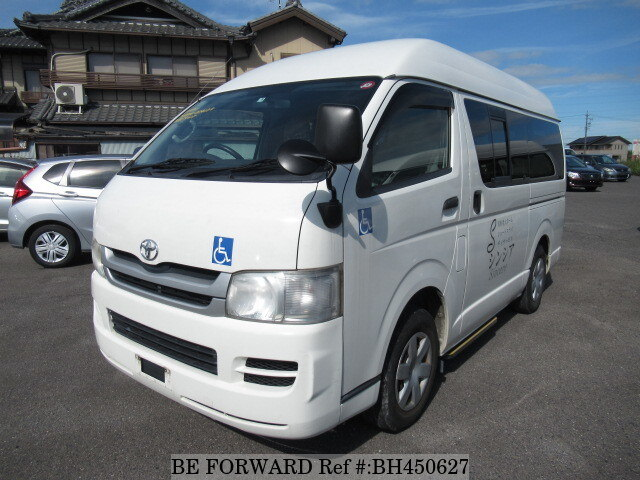 Used 2010 TOYOTA HIACE VAN BH450627 for Sale