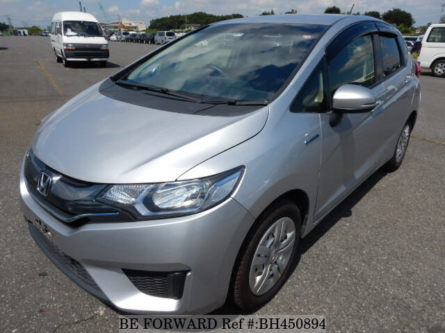 Used 2015 HONDA FIT HYBRID BH450894 for Sale