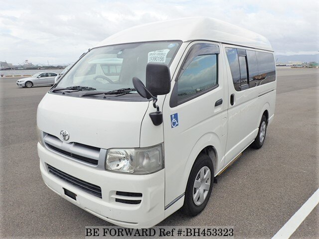 Used 2004 TOYOTA HIACE VAN BH453323 for Sale