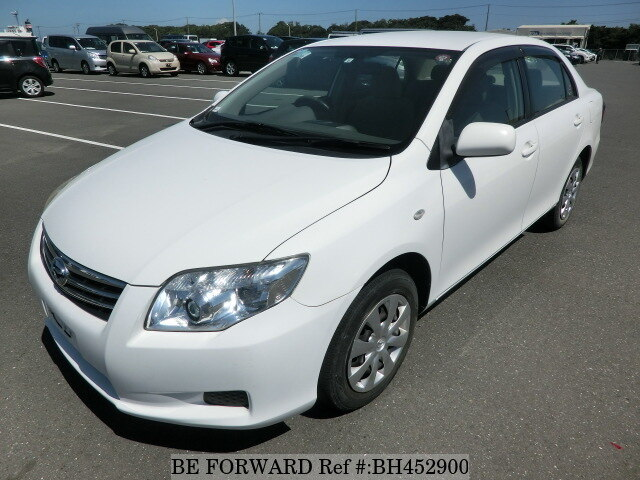 Used 2010 TOYOTA COROLLA AXIO BH452900 for Sale