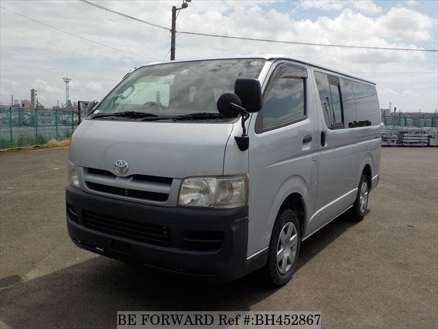 Used 2005 TOYOTA HIACE VAN BH452867 for Sale