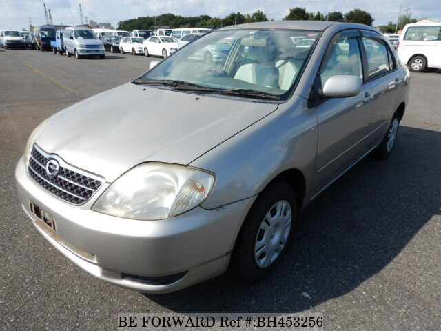 Used 2002 TOYOTA COROLLA SEDAN BH453256 for Sale