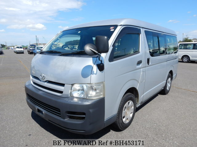 Used 2005 TOYOTA HIACE WAGON BH453171 for Sale