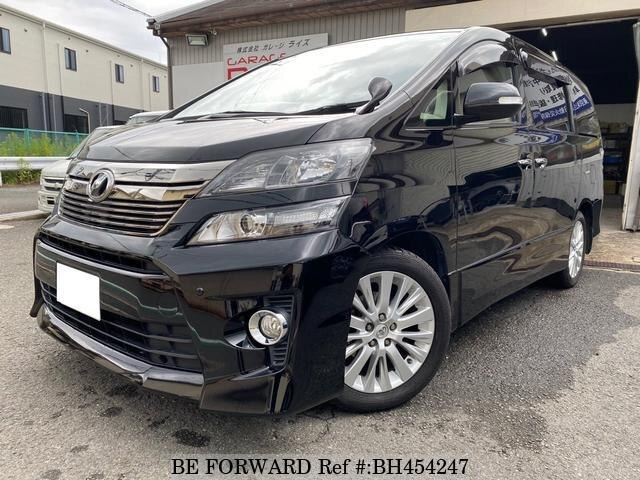 Used 2012 TOYOTA VELLFIRE BH454247 for Sale