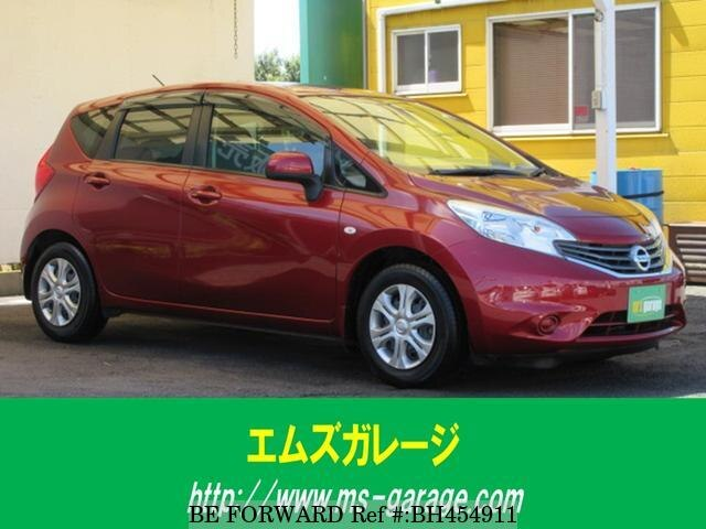 Used 2013 NISSAN NOTE BH454911 for Sale