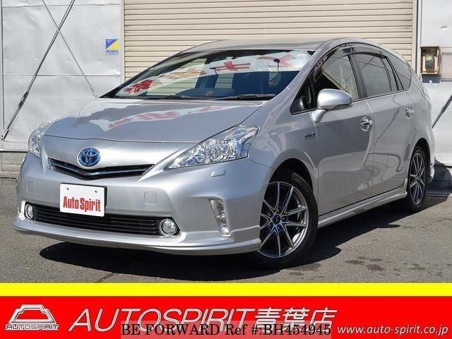 Used 2013 TOYOTA PRIUS ALPHA BH454945 for Sale