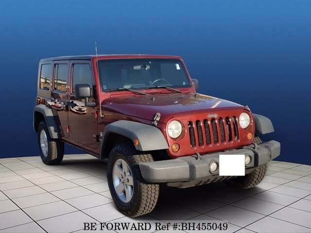 Used 2008 JEEP WRANGLER BH455049 for Sale