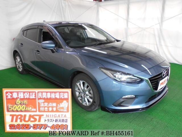 Used 2015 MAZDA AXELA SPORT BH455161 for Sale